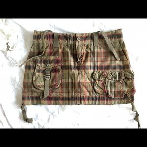 Ralph Lauren Rugby plaid mini skirt